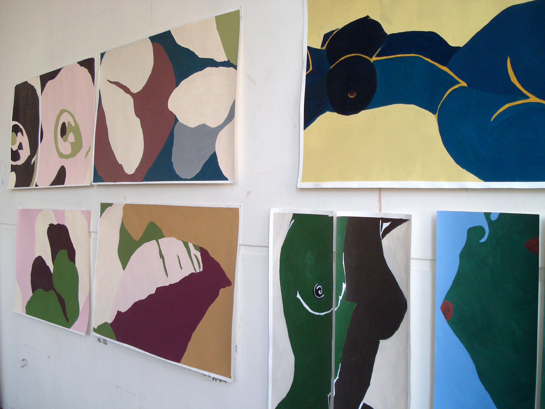 2007 - acryl op papier