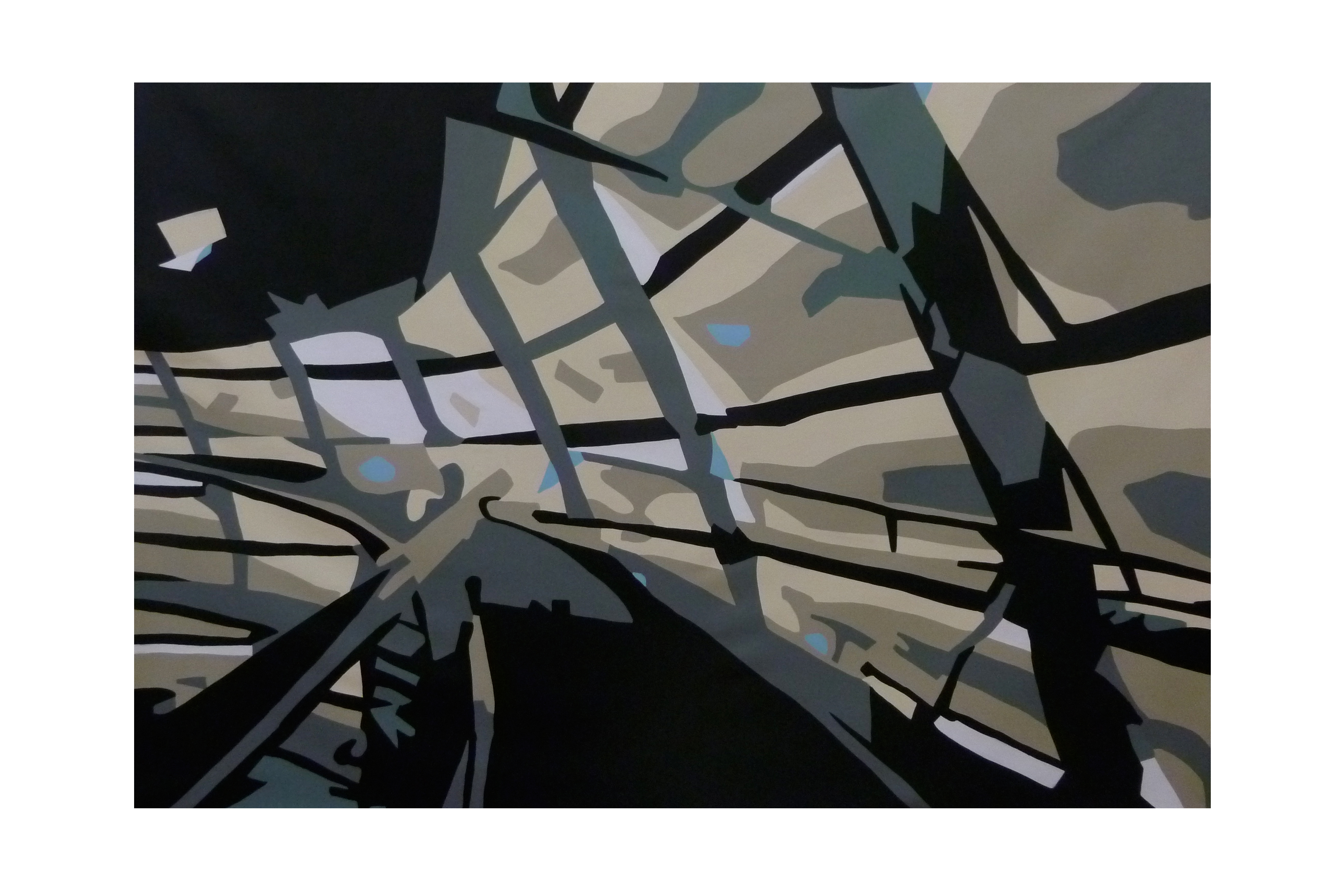 2012 - acryl op linnen 140x200