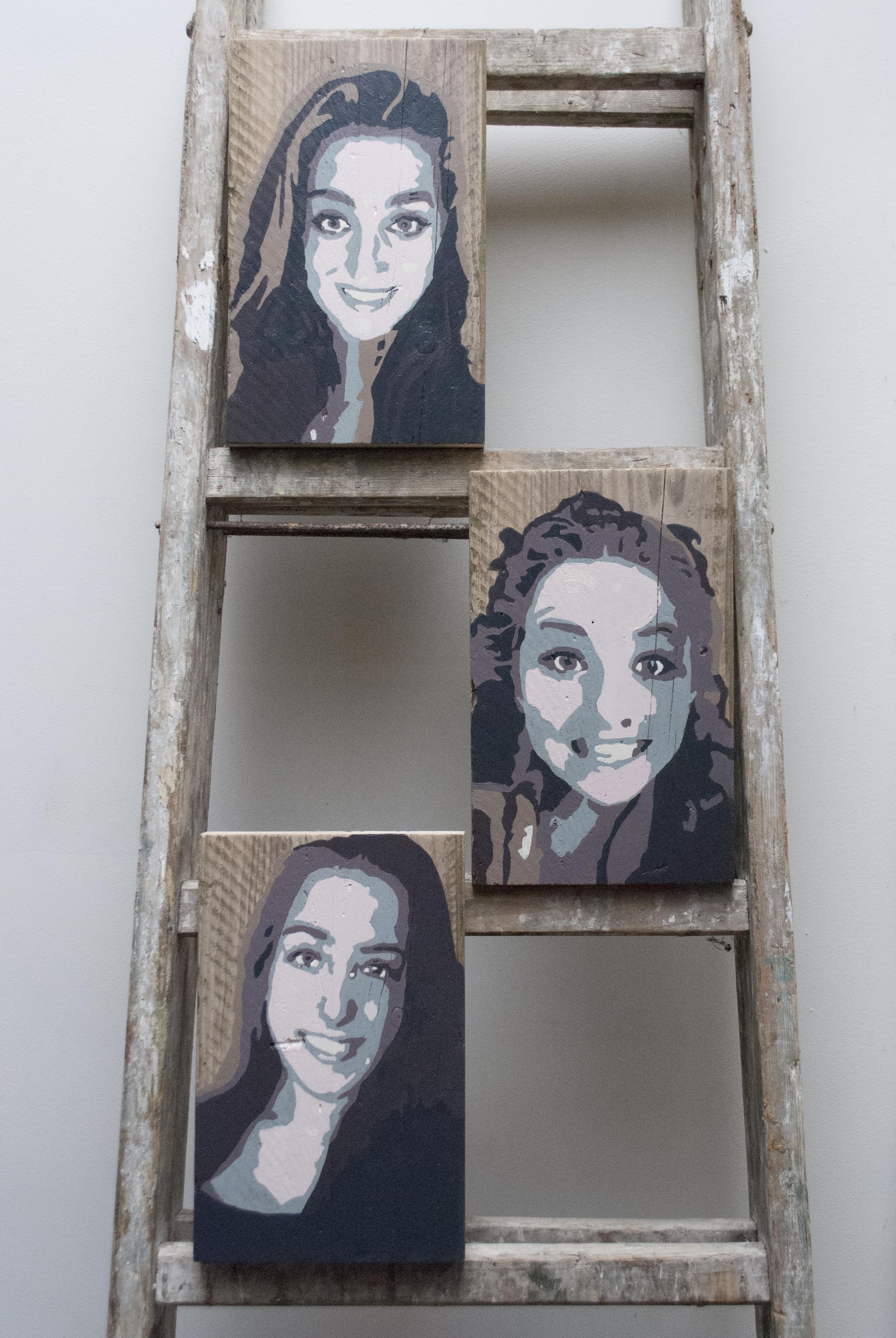 2015 - acryl op stijgerhout 20x30